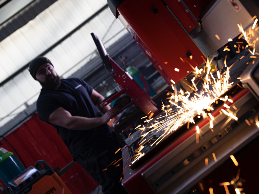Explore the capabilities of our fully equipped fabrication workshop.